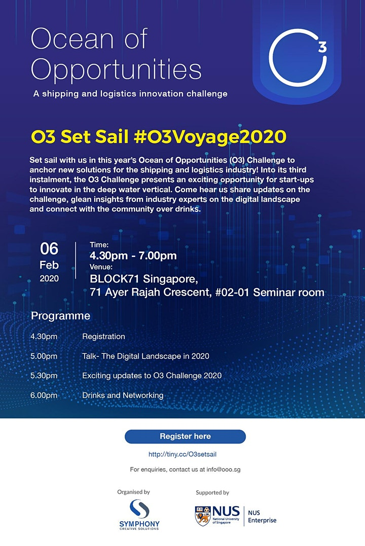 Ocean of Opportunities (O3) Set Sail image