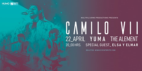 Camilo Septimo en Yuma, AZ tickets