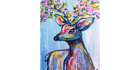 "3/16 - Corks and Canvas Event @ Suite Restaurant/Lounge, Bellevue ""Oh Deer!"" tickets"