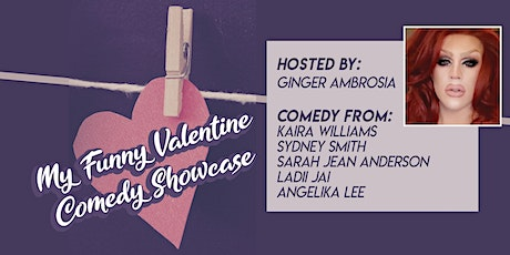 My Funny Valentine Comedy Showcase tickets