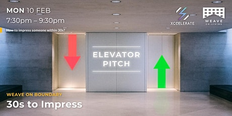 Weave Workshop: Elevator Pitch tickets