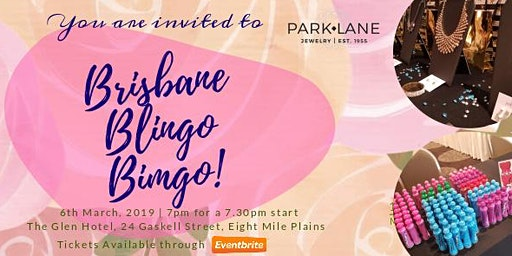 BRISBANE BLINGO BINGO | PARK LANE NEW CATALOGUE LAUNCH