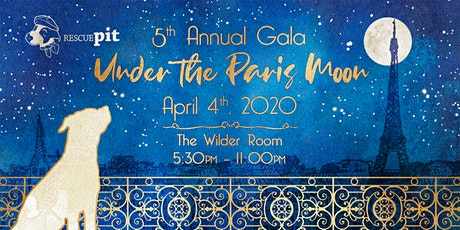 5th Annual Rescue Pit Gala tickets