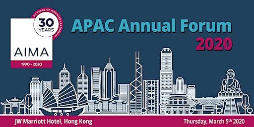 AIMA APAC Annual Forum 2020