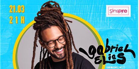 Gabriel Elias no Sinspire - Recife (PE) ingressos