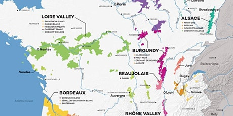 Wine Education 101: France  tickets