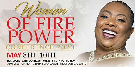 WOMEN OF FIRE & POWER CONFERENCE 2020!! tickets