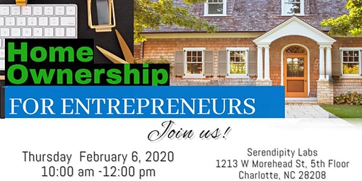 Home Buyer Event: Home Ownership for Entrepreneurs | What You Need to Know