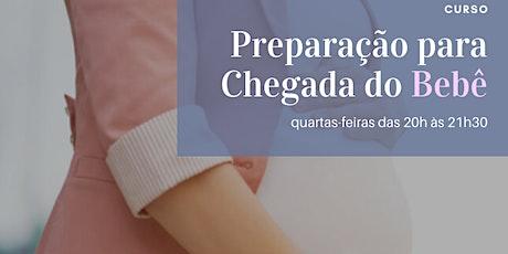 Curso Preparação para Chegada do Bebê ingressos