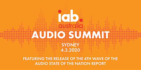 IAB Audio Summit - Sydney tickets