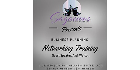 Business Planning Networking Training tickets