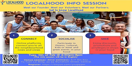 Local Hood Info Session tickets