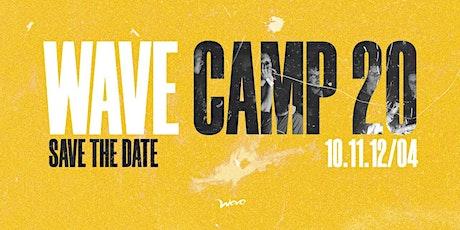 WAVE CAMP 20 ingressos