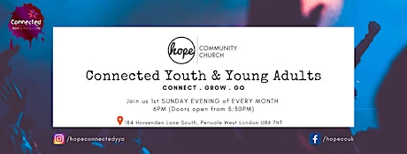 Youth & Young Adults Fellowship Service // November tickets