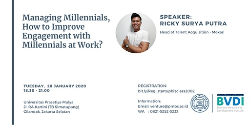 Managing Millenials, How to Improve Engagement with Millennials at Work?