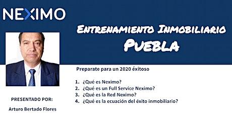 Entrenamiento Inmobiliario - Puebla boletos