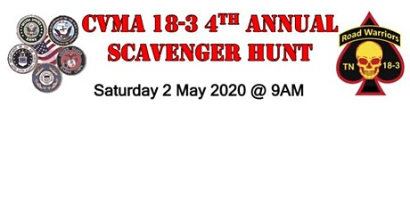 Combat Veterans Motorcycle Association Knoxville Chapter Scavenger Hunt tickets