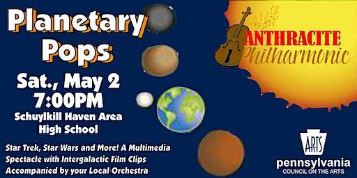 Anthracite Philarmonic Planetary Pops