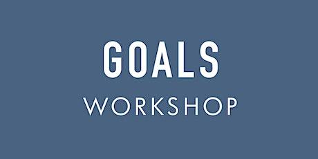 Goals Workshop tickets