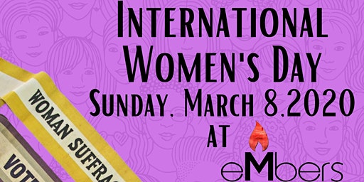 International Woman's Day Speaker Series