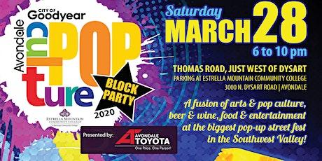CulturePOP Block Party tickets