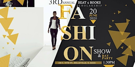 3rd Annual Beat for Books Fashion Show tickets