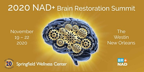 2020 NAD+ Brain Restoration Summit tickets