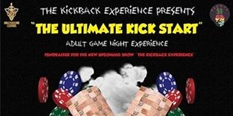 """"""" The Ultimate Kick Start """" Adult Game Night tickets"""