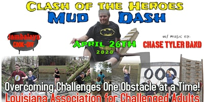 Clash of the Heroes Mud Dash and Obstacle