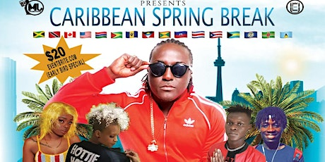 Caribbean Spring Break Canada Hitmaker Performing Live tickets
