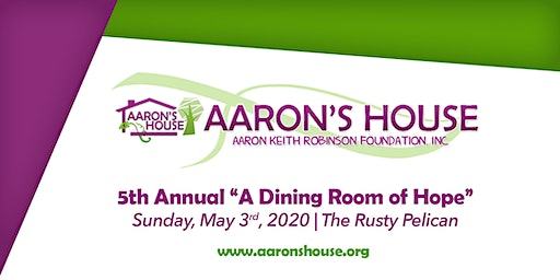 """5th Annual """"A Dining Room of Hope"""""""