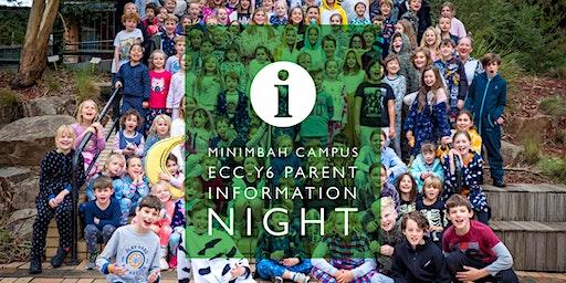 Woodleigh School Minimbah Campus Parent Information Night 2020