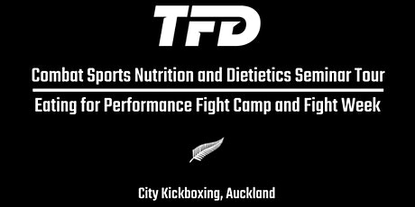The Fight Dietitian Combat Sports Nutrition Seminar tickets