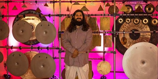 MIKE TAMBURO: Live -- Sound Meditation w/ Gongs, Bells, Metal