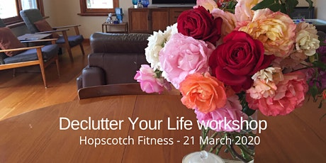 Declutter your life - Hopscotch Fitness tickets