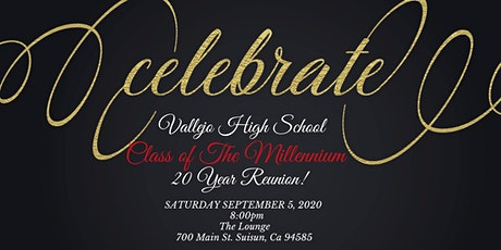 Vallejo High School  Class of 2000..20 Years Later!!! ITS THA REUNION!!!! tickets