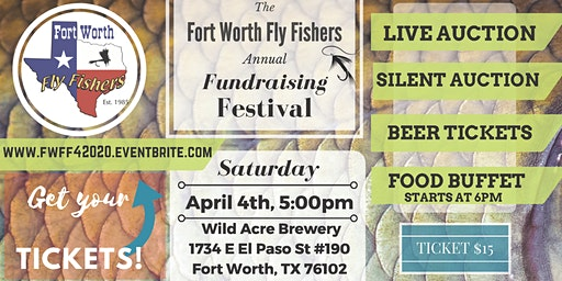 Fort Worth Fly Fishers Fundraising Festival 2020