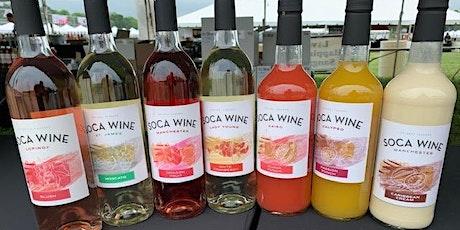 NYC Soca Wine 101 Tasting Class tickets