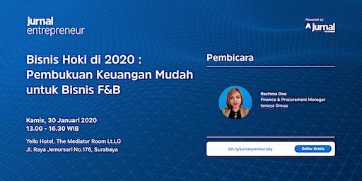 """""""Bisnis Hoki di 2020 : Pembukuan Keuangan Mudah untuk Bisnis F&B"""""""
