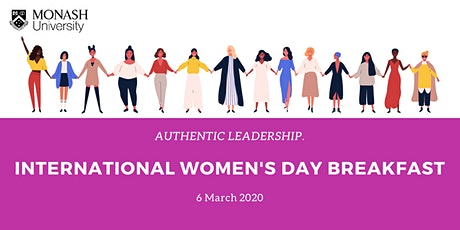 International Women's Day Breakfast - Authentic Leadership tickets