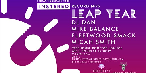 InStereo Recordings presents DJ Dan and more!