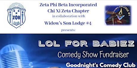LOL for Babiez Comedy Show Fundraiser tickets