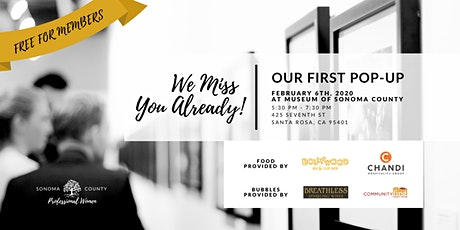 We Miss You Already! | Celebrate With Us | SCPW POP-UP tickets