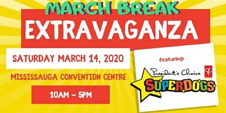 KidzMania March Break Extravaganza - Kids Go Free! tickets