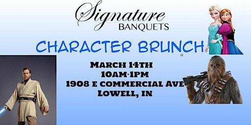 Signature Banquets Character Brunch