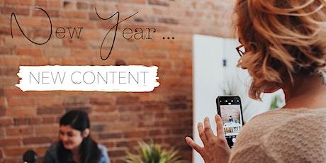 New Year, New Content - Instagram Playground tickets