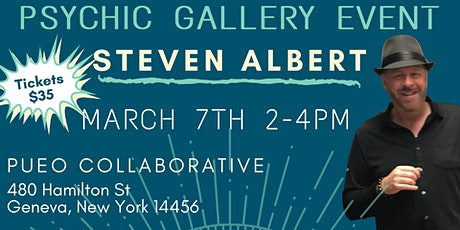 Steven Albert: Psychic Gallery Event - Pueu -3/7 tickets