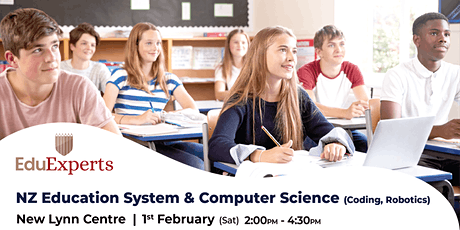 NZ Education System & Computer Science (Coding, Robotics) tickets