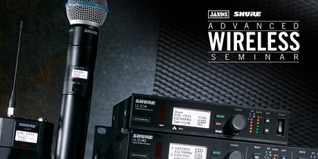 Shure Advanced Wireless Seminar (Melbourne) tickets