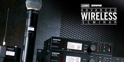 Shure Advanced Wireless Seminar (Melbourne)